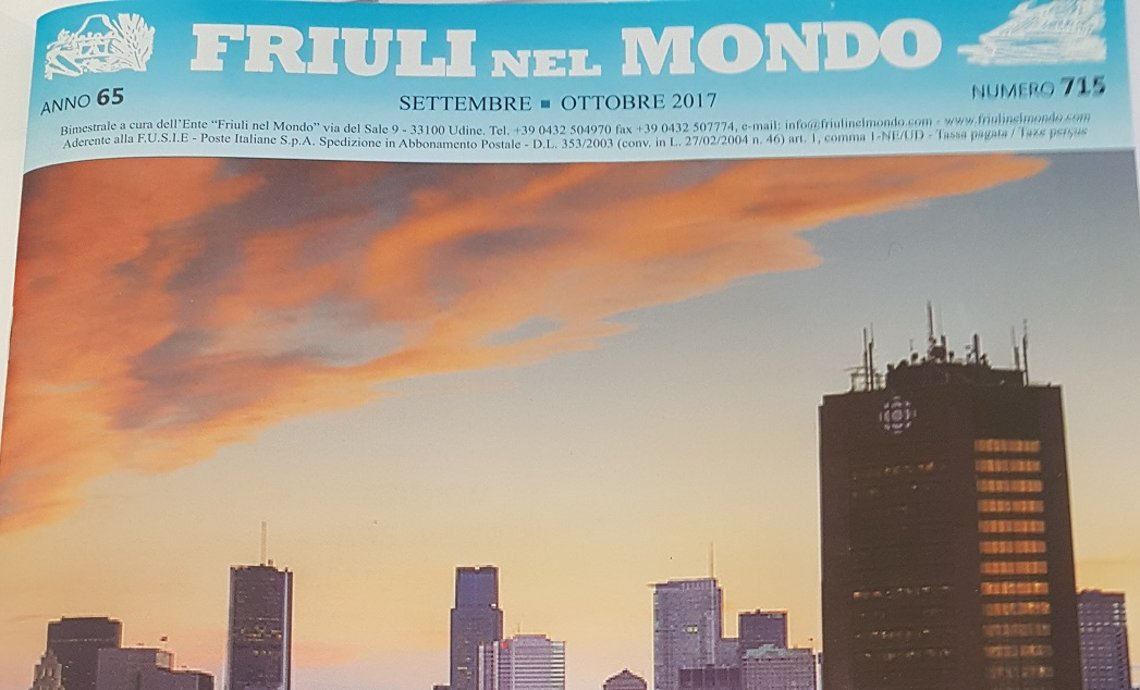 Friuli nel Mondo dedica un bell'articolo ai Tenimenti Civa