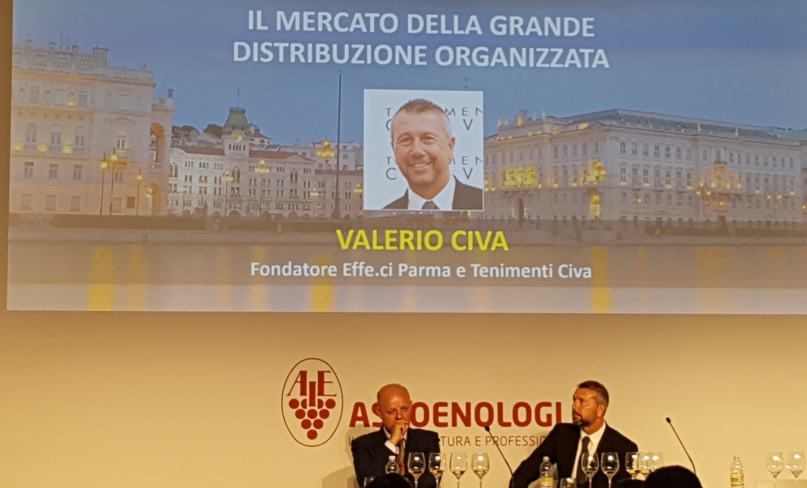 Valerio Civa among the speakers of the 73rd National Assoenologi Congress