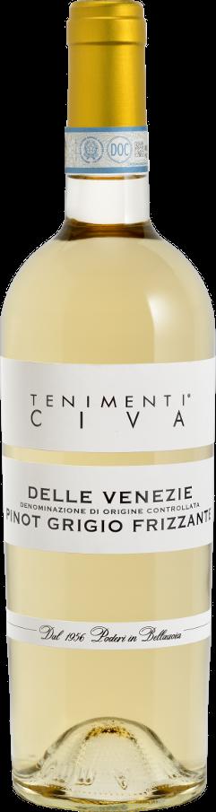 Pinot grigio frizzante doc delle venezie