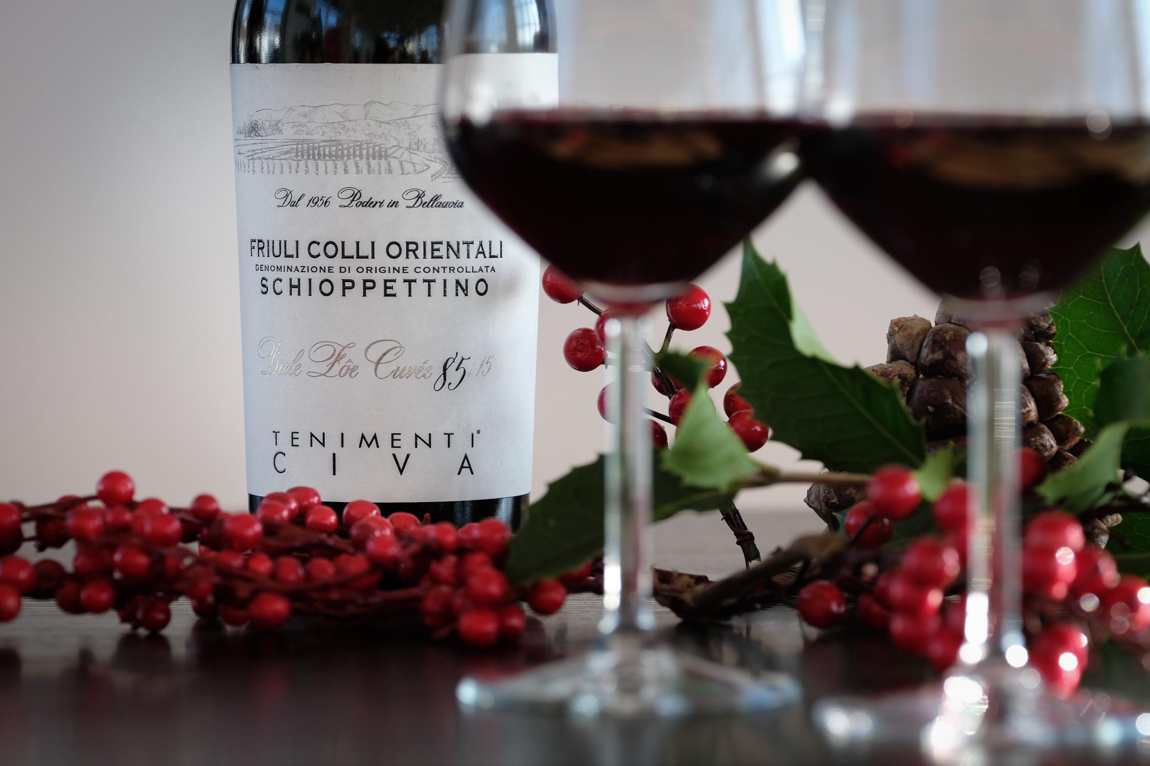 Degustazione del vino dei Tenimenti Civa