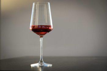 Calice vino rosato