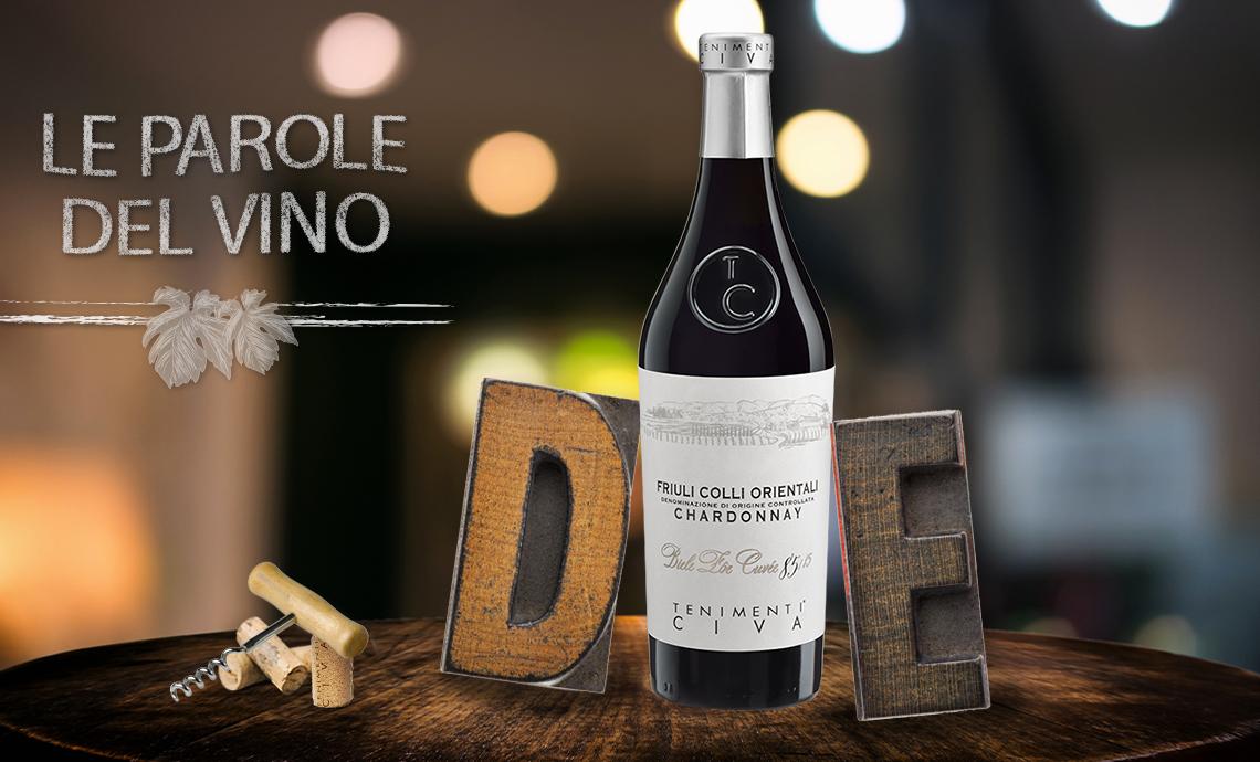Le Parole del Vino con la D e la E