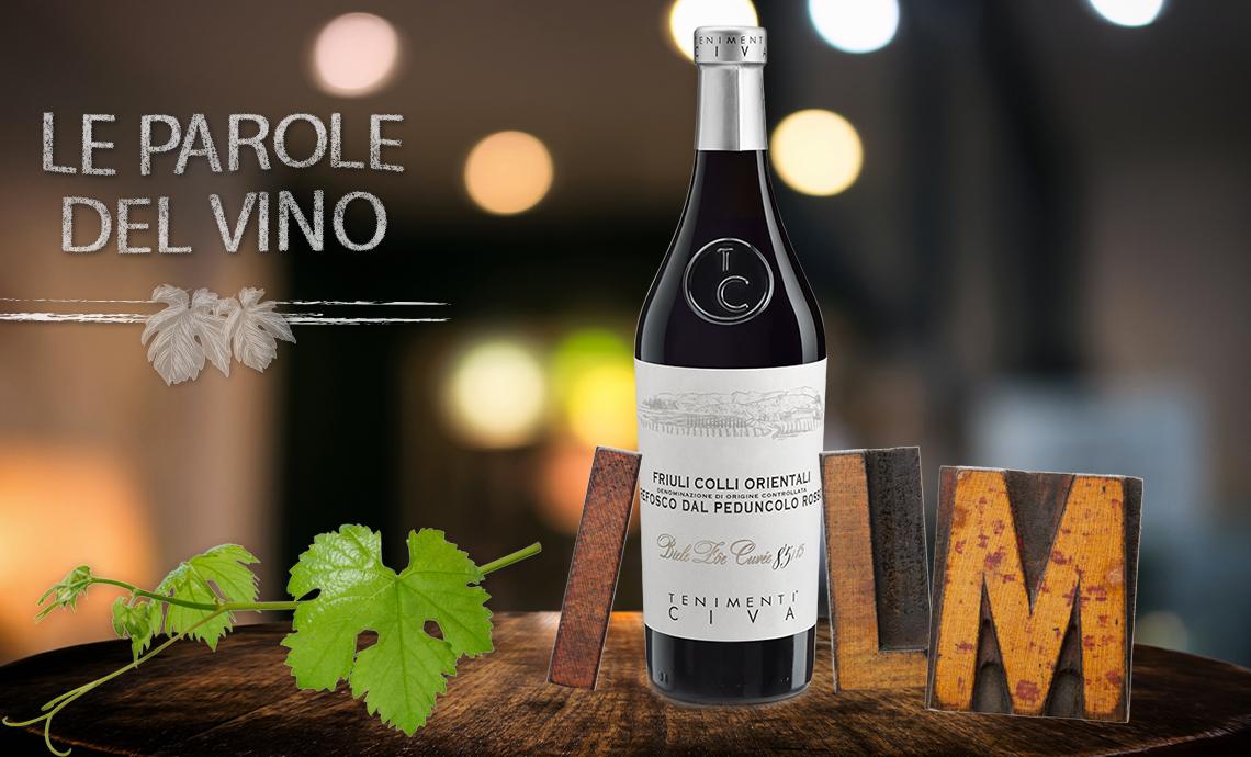 Le parole del vino con la I, la L e la M