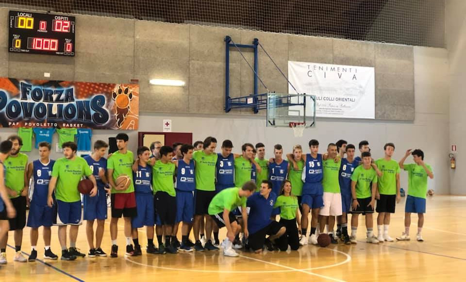 Tenimenti Civa main Sponsor della Povolions Basket di Povoletto