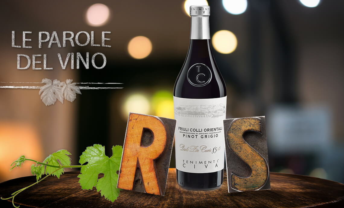 Le parole del vino con la R e la S