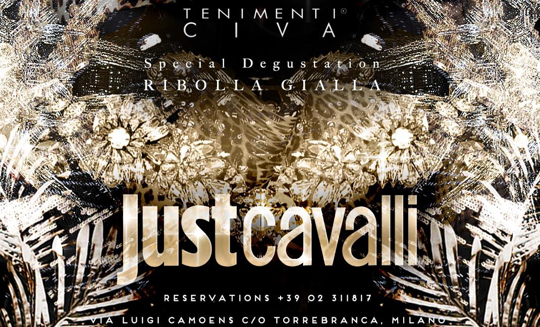 TENIMENTI CIVA AT JUST CAVALLI IN MILAN – SPECIAL TASTING OF RIBOLLA GIALLA
