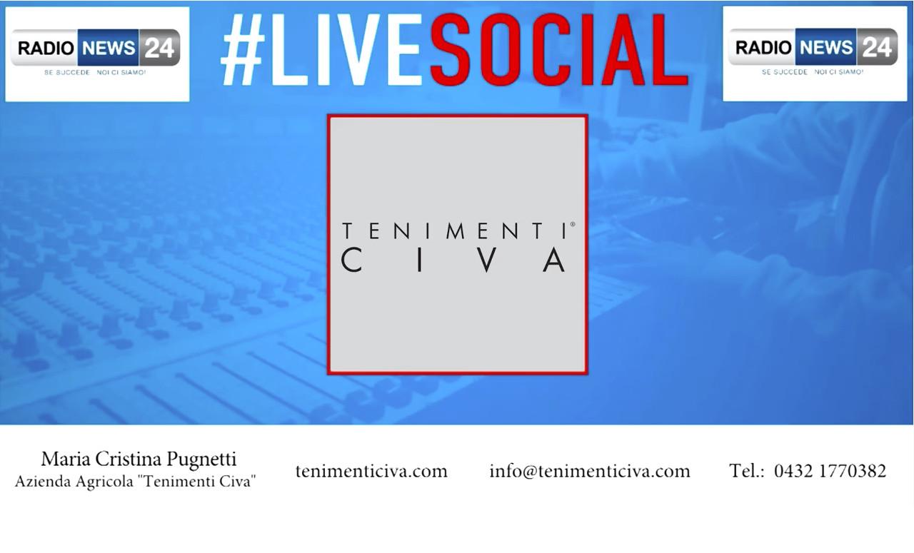 TENIMENTI CIVA, VIDEO INTERVIEW WITH RADIO NEWS24