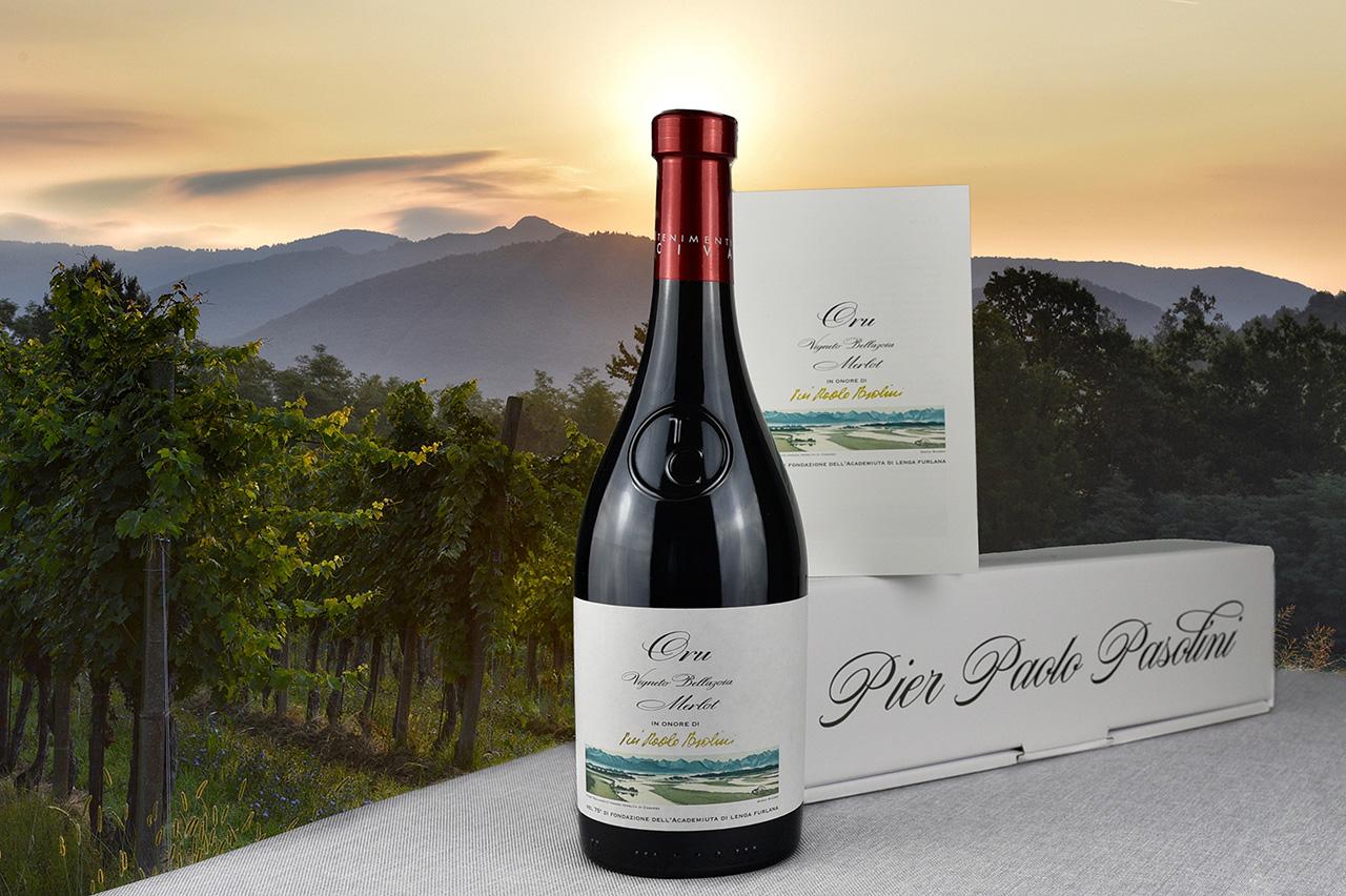 """Vin di """"Oru"""" in onore di Pier Paolo Pasolini"""