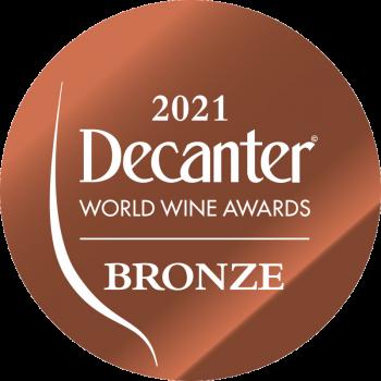 Decanter bronze medal 2021