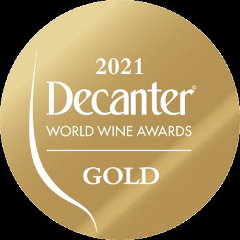 Decanter gold medal 2021