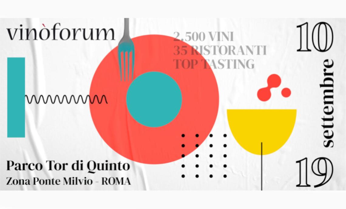 Tenimenti Civa a Vinòforum Roma dal 10 al 19 settembre